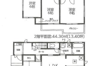 三島市旭ヶ丘A棟 新築住宅