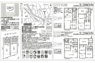 【成約済み】三島市谷田第6 1,2号棟 新築分譲住宅